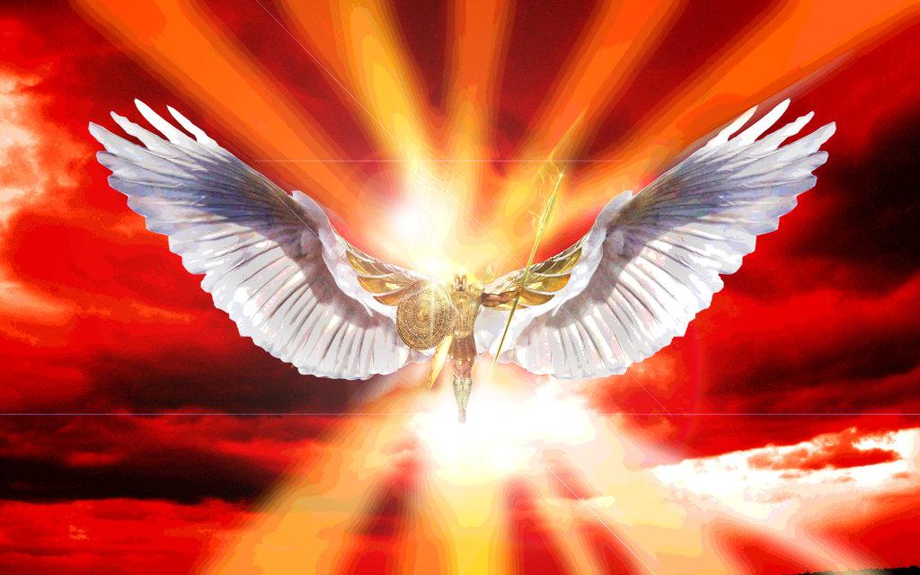 Image result for archangel michael war in heaven